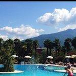 Pool, wunderschönes Panorama