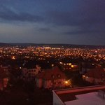 cluj by night, view from 5th floor.