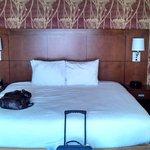 Beautiful, plush bed!