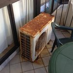 Nasty old air conditioner