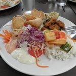 pranzo a buffet
