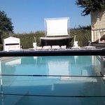 Terrazza su piscina