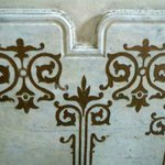 Im Treppenhaus Ornamente