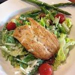 Den knastørre kylling (men god salat)