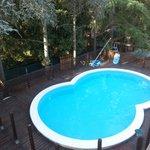 La piscine bien utile après une bonne excursion