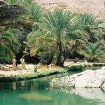 Een van de wadi's tijdens jeepsafari