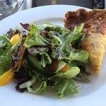 Quiche and Garden Salad