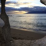 Sunset at the beach - tunliweb.no