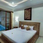 Bedroom beside Pool