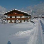 Winteransicht Landhaus Greiderer