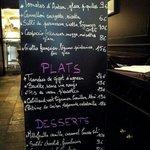 menu in mid July
