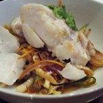 cabillaud wok legumes
