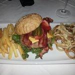 Bacon cheeseburger heaven!