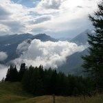 Stimmung:  Wolken unten, Wolken oben...