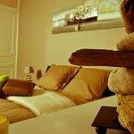 Notre chambre avec balcon au dernier étage