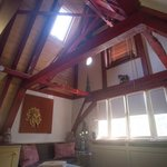 The vaulted ceiling carpentry art