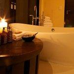 Superior luxury suite bathroom