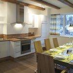 Küche/Wohnraum im **** Apartment Morgenrot