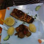 Pavé de saumon grillé à la carte