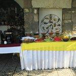 Su Otel breakfast table