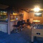 Tiki Bar by the lake. byob and hang out.