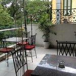 breakfast floor terrasse