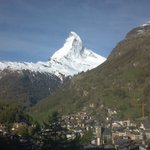 View of the Matterhorn from the room