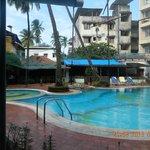Hotel Fidalgo swimming pool