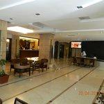 Hotel Fidalgo reception