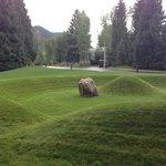 Grassy Mound, Herbert Bayer c. 1950's