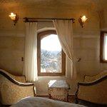 Sunset Fairy Chimney Cave Room