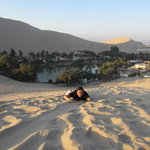 a view of  Huacachina