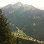 Blick auf Mayrhofen vom Penken