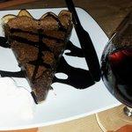 Torta al cioccolato e Porto