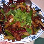 Mongolian Beef - nice and spicy