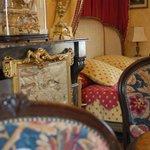 xhambres princesse de Lamballe au Chateau de La Montchevalleraie, chambres d'hôtes en Anjou