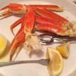 Perfect Alaskan Crab legs with drawn butter