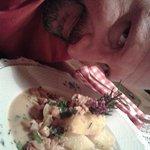 polentina con finferli
