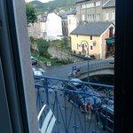 vistas desde la habitación con balcón