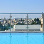 Best View of Jerusalem from the rooftop Pool!