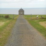 view down to mussendun temple