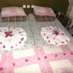 Beds well made