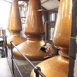 Jura Distillery Stills