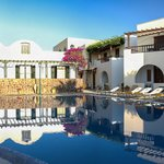 mathios hotel by the pool