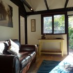 Lounge in suite at our  B & B in Hindhead near Grayshott