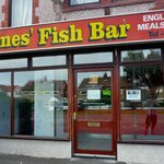 James' Fish Bar, Prestatyn