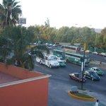 Vista del Hotel hacia la calle