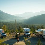 RV sites with valley view