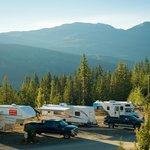 RV sites with Black Tusk
