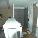 douche des grandes chambres